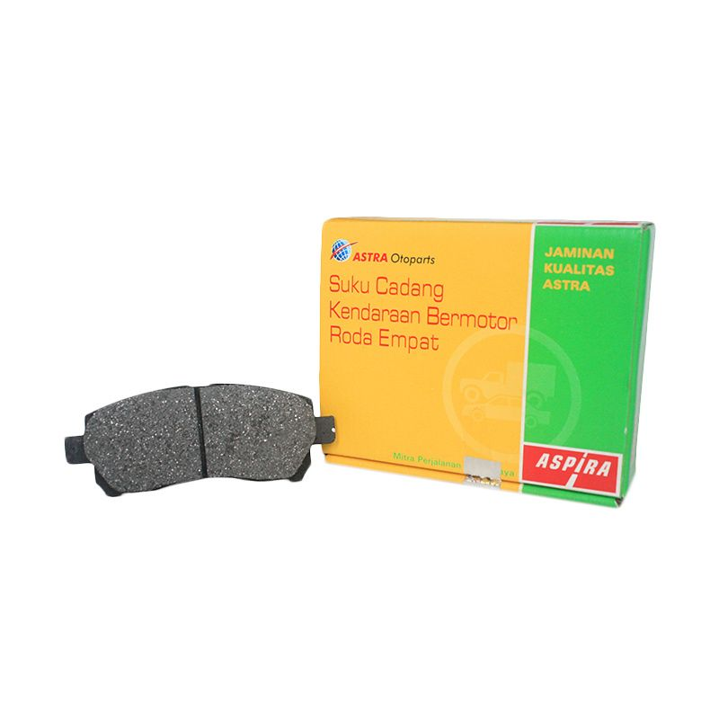 Aspira 4W TO-04465-K5K-1700 Brake Pad Set Kampas Rem for Toyota Kijang KF40/ KF50