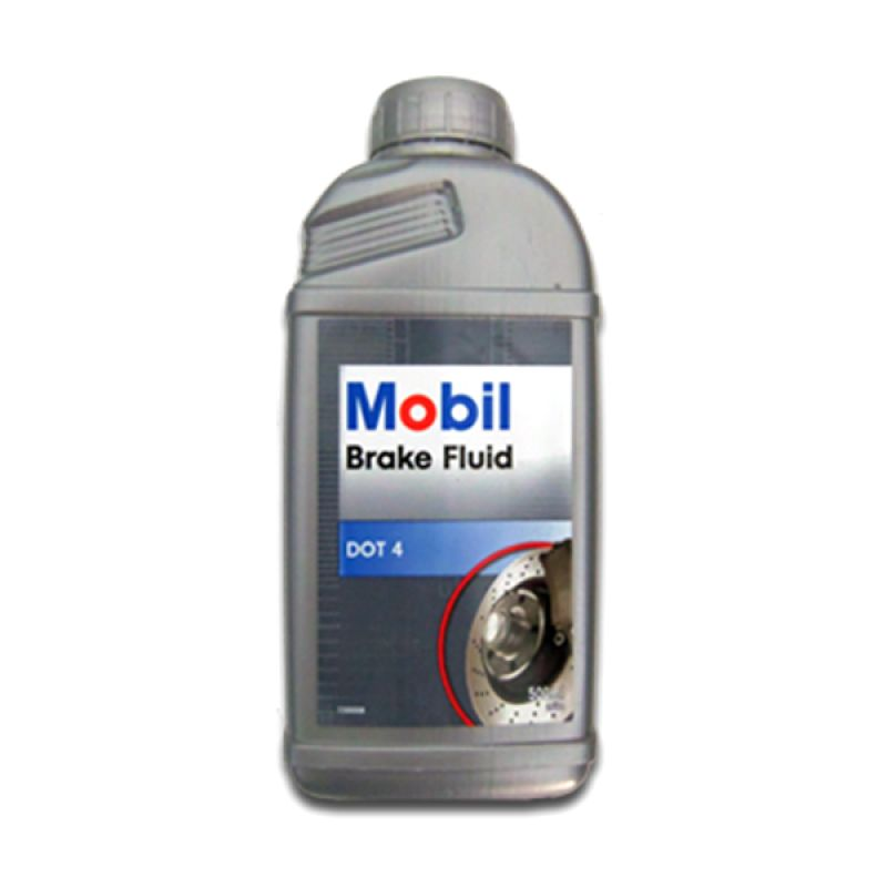 Mobil Brake Fluid Dot 4 Minyak Rem [500 mL]