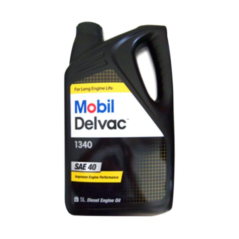 Mobil Delvac 1340 SAE 40 Oli Pelumas [5 Liter]