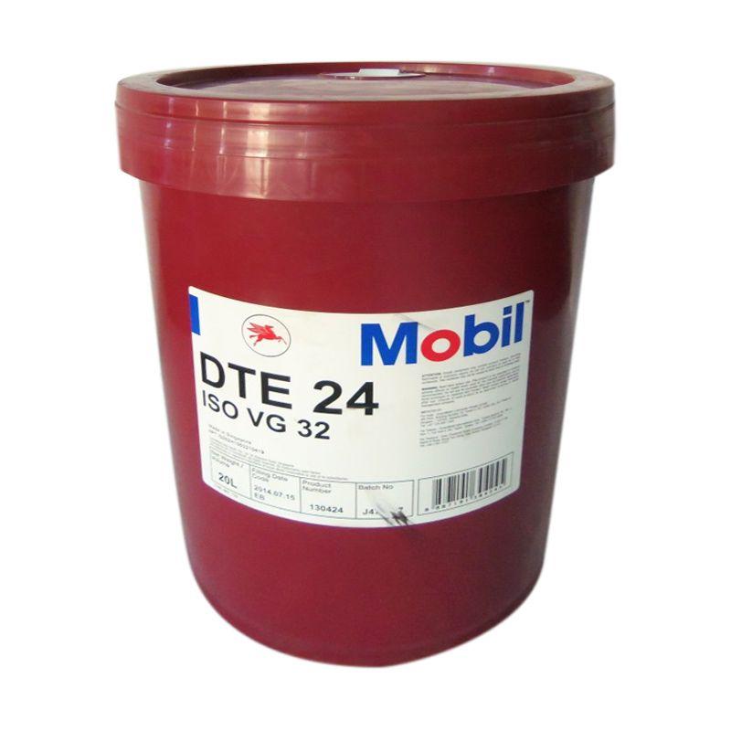 Mobil DTE 24 Oli Pelumas [20 Liter]