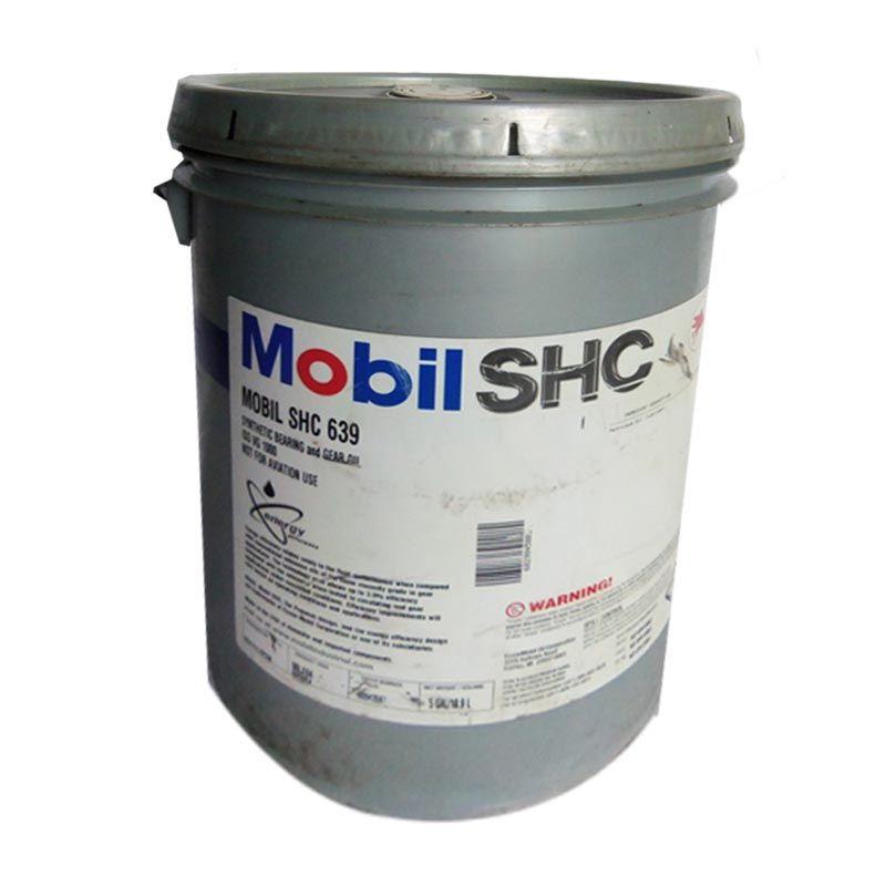 Mobil SHC 639 Oli Pelumas [18.9 Liter]