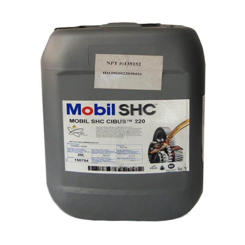 Mobil SHC Cibus 220 Oli Pelumas [20 Liter]