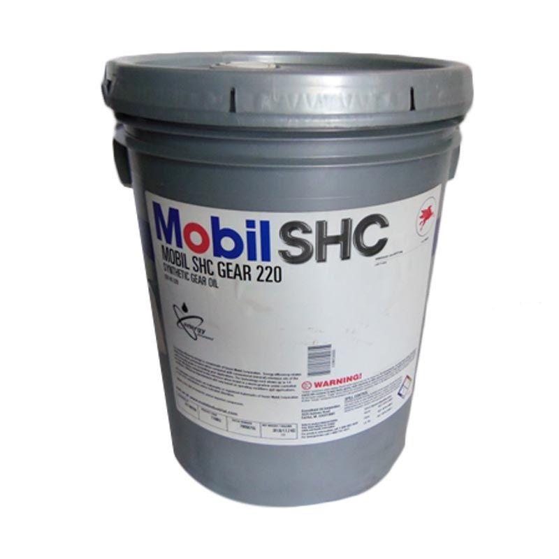 Mobil SHC Gear 220 Oli Pelumas [20 Liter]