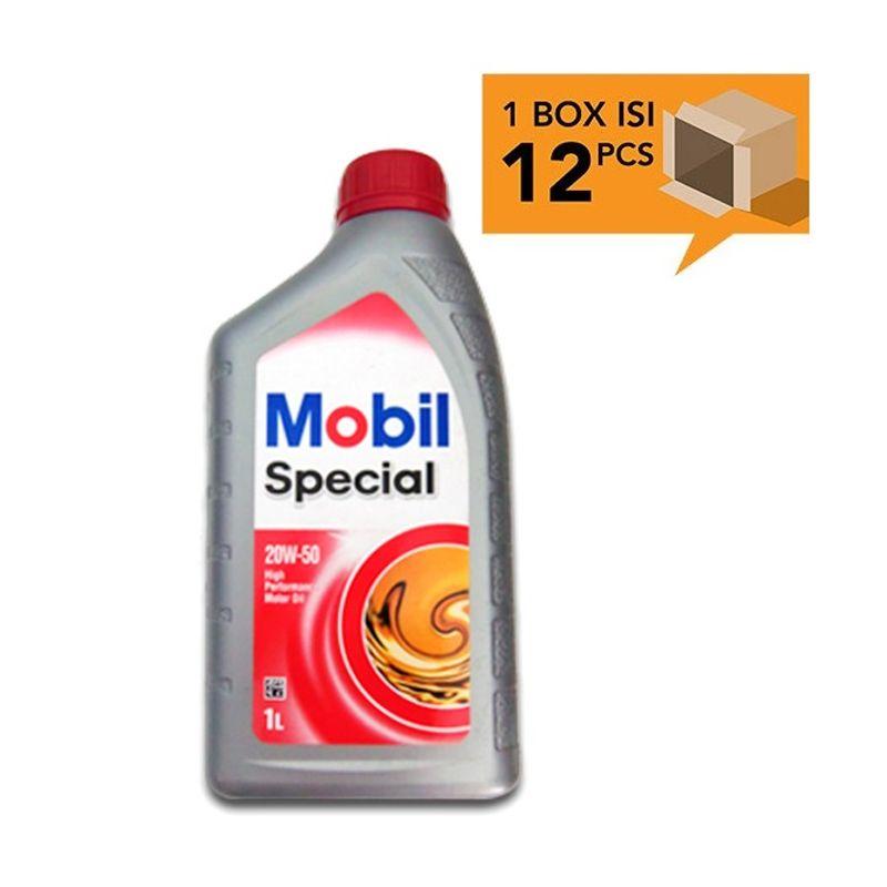 Paket Karton - Mobil Special 20W-50 Oli Pelumas [12 Pcs/1 L]