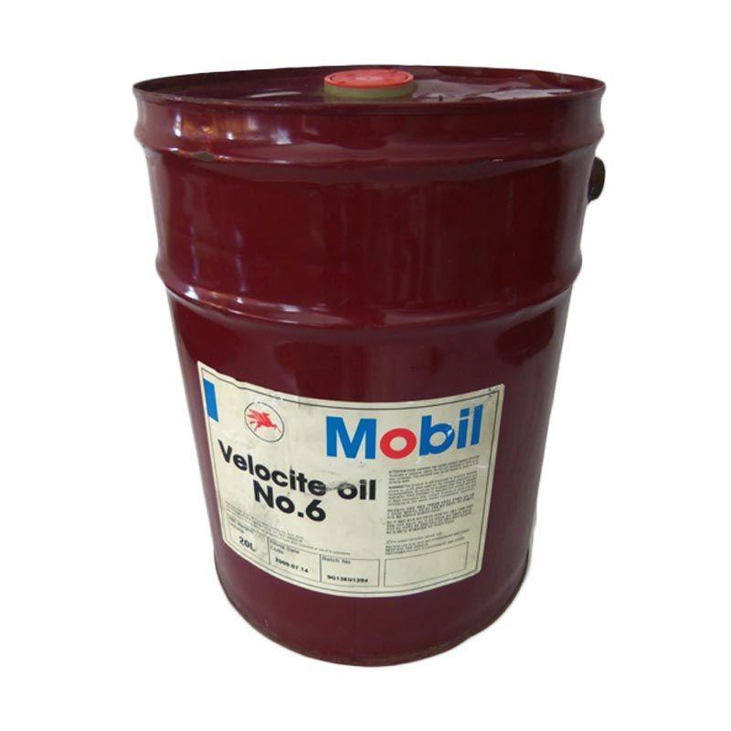 Mobil Velocite 6 Oli Pelumas [20 Liter]