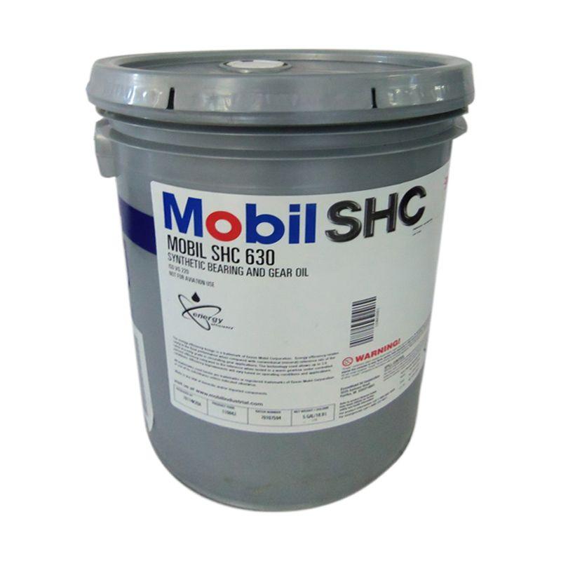 Mobil SHC 630 Oli Pelumas [18.9 Liter]