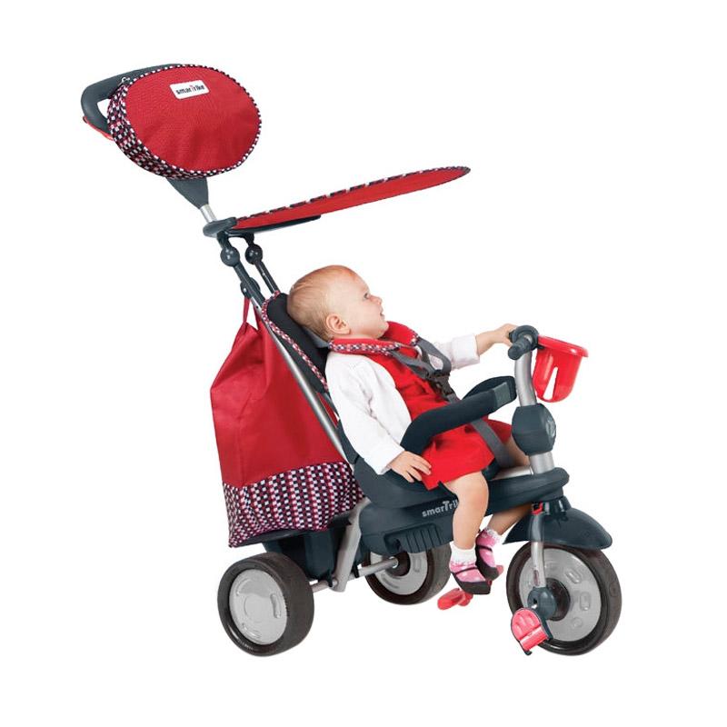 Smart Trike Splash Sepeda Anak - Red