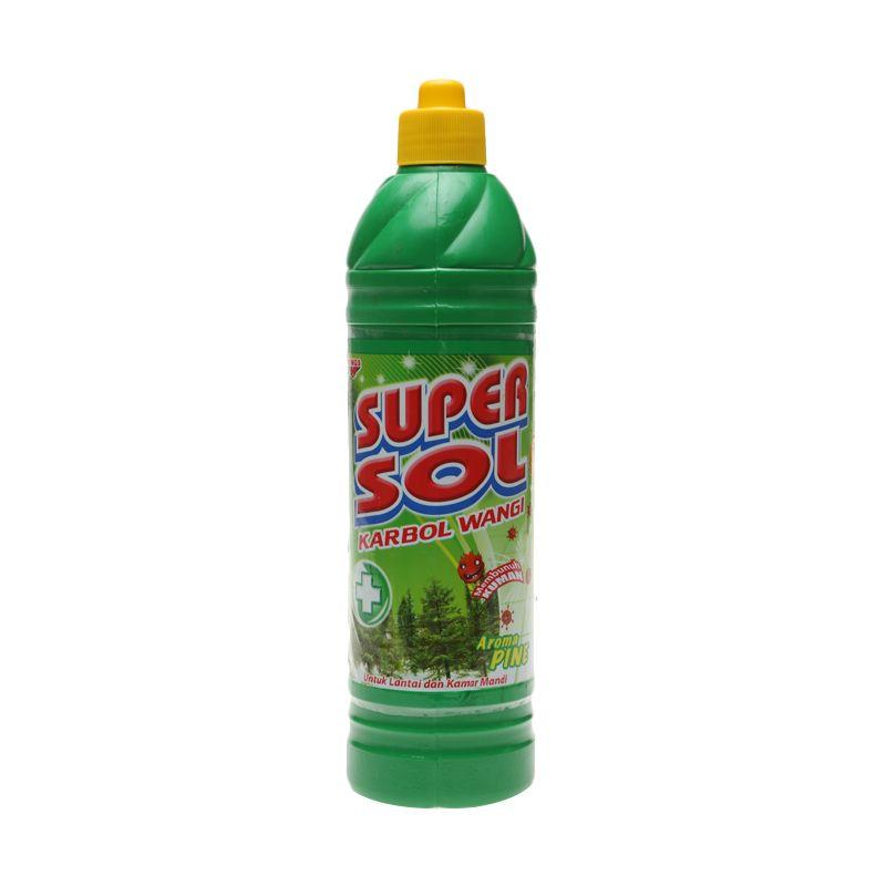 SUPERSOL Carbol Pembersih Lantai Botol [900 ml]