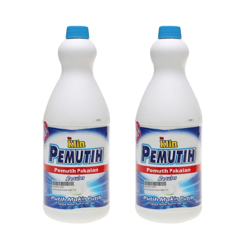 So Klin Pemutih Reguler Botol [1000 ml  x 2 pcs]