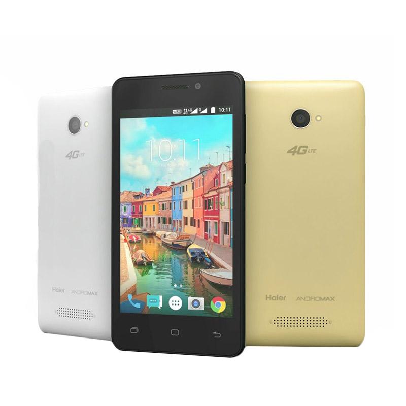 Smartfren Andromax A A16C3H Smartphone - White [1 GB/8 GB]
