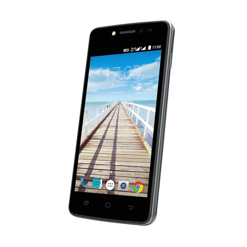 Smartfren Andromax E2 Volte Smartphone - Hitam [8GB/ 1GB/ LTE]