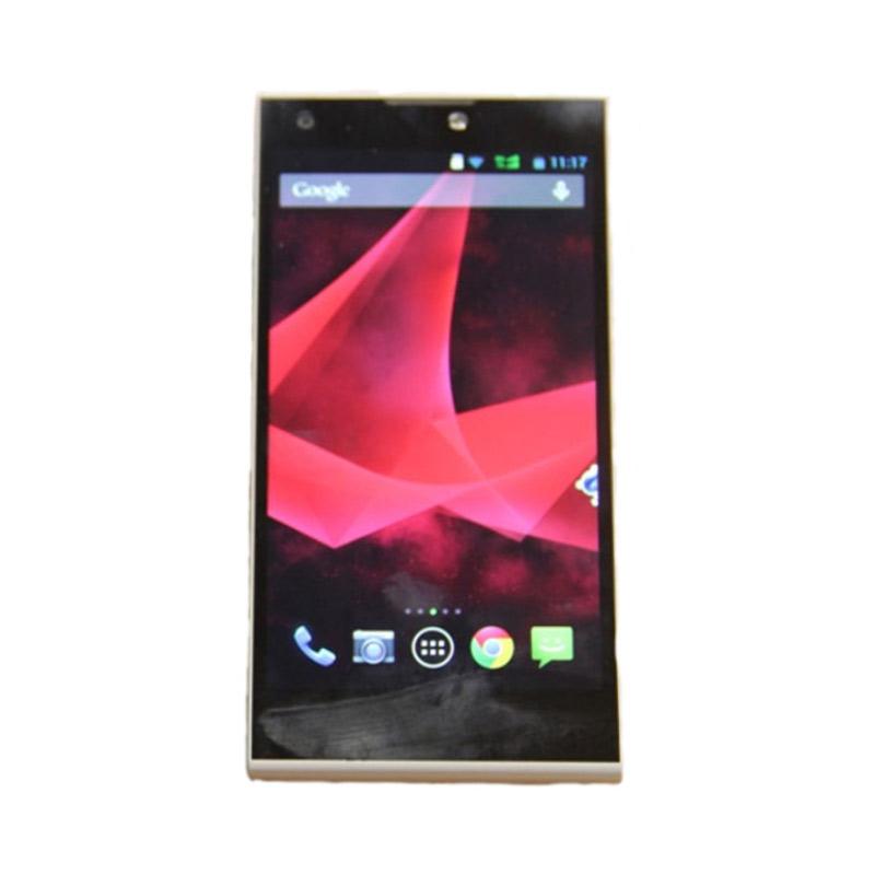 Smartfren Andromax V3s Smartphone - Putih [8 GB]