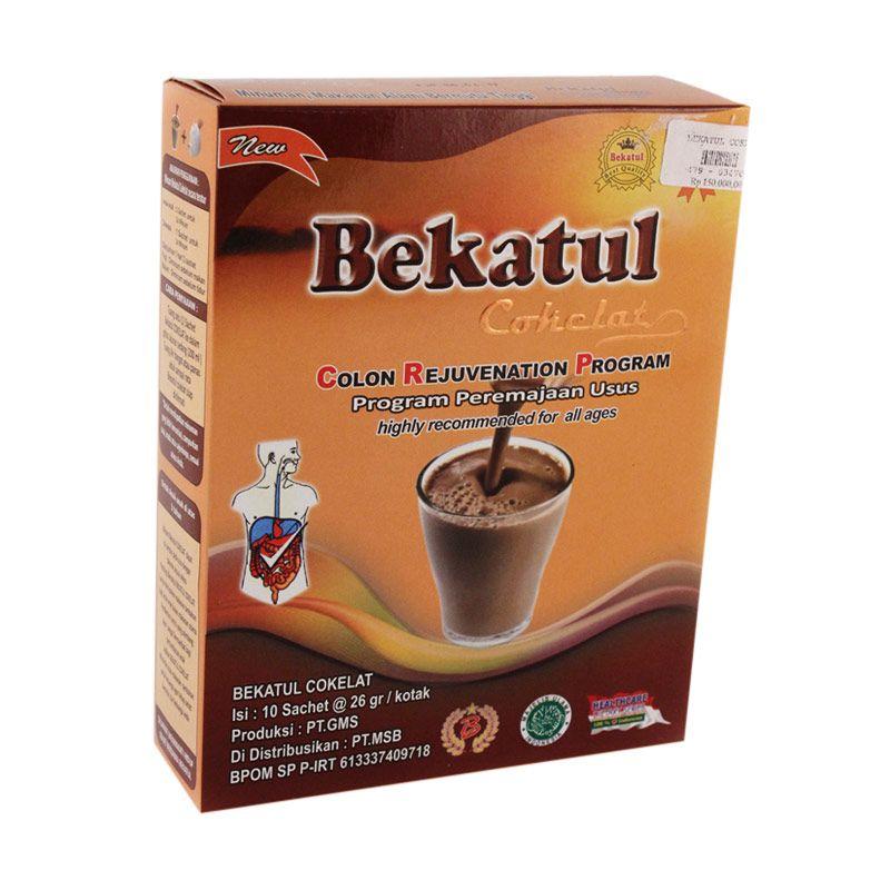Bekatul Cokelat Susu Formula [10 Sachet per Kotak]