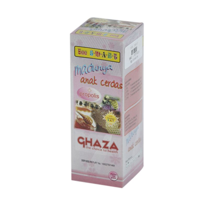 Ghaza Bee Smart Madu Anak Cerdas Minuman Herbal