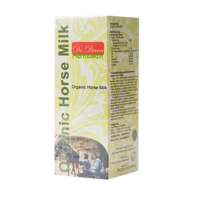 Organic Horse Milk Dr. Diana Hermawati Minuman Susu