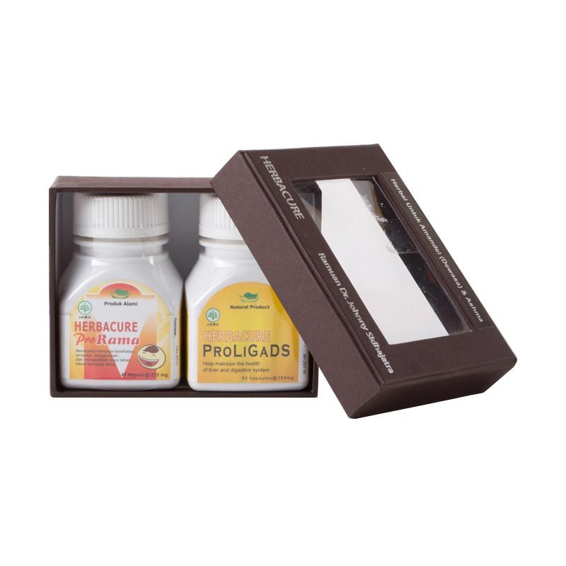 Paket - Natural Product Herbacure Herbal Suplemen