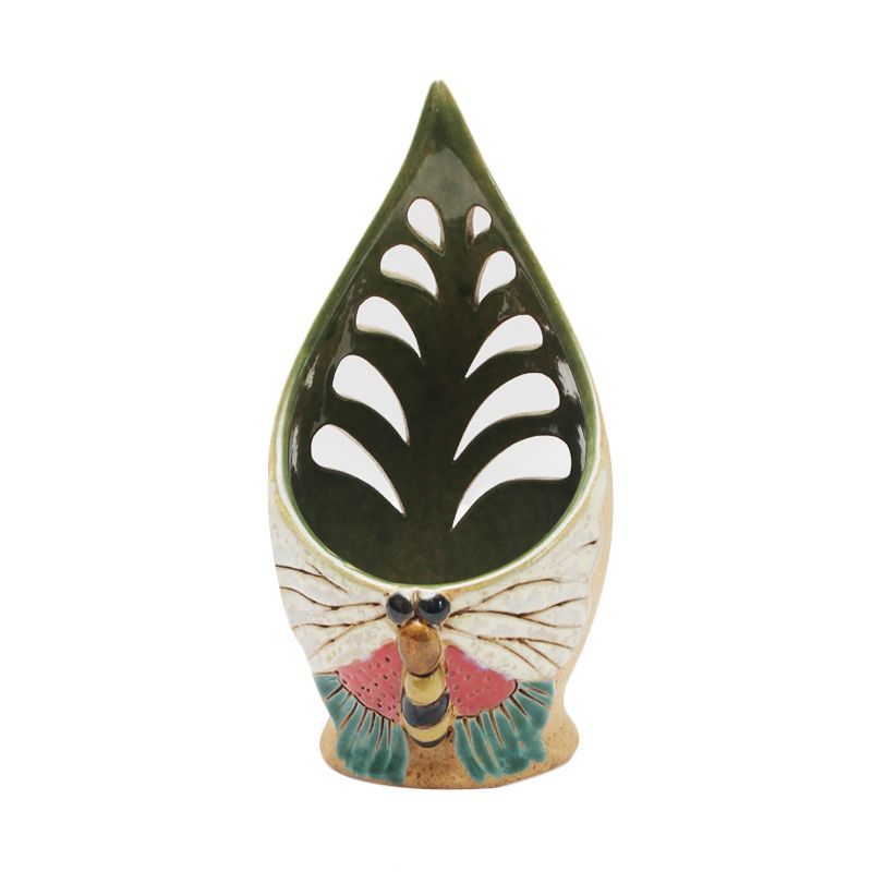 Smesco Trade Amarta Puri Keramik Hijau Tempat Lilin