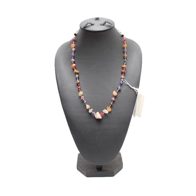 Smesco Trade Batu Warna-Warni Kalung