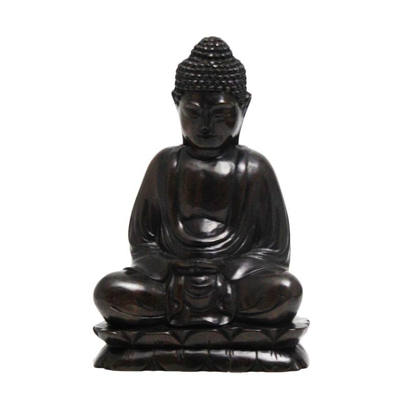 Smesco Trade Budha Hitam Patung Kayu