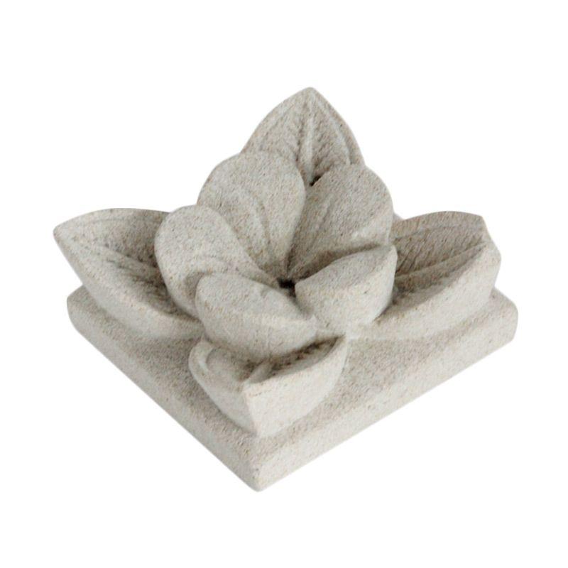 Smesco Trade Bunga Patung Batu [Kecil]