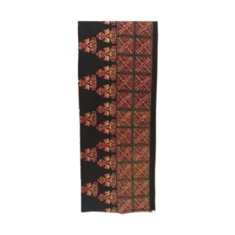 Smesco Trade Cap Motif Rumah Adat Kain Batik