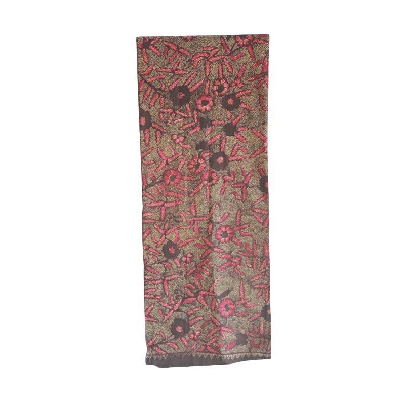 Smesco Trade Gurik Motif Mahkota Bunga Kain Batik