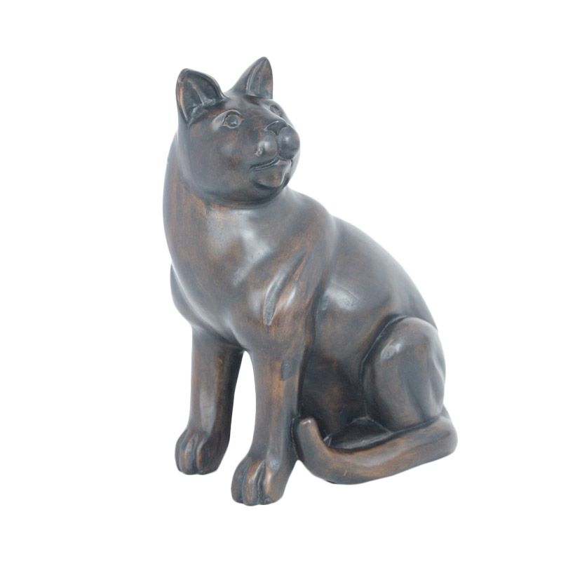Smesco Trade Jati Model Kucing Patung Kayu