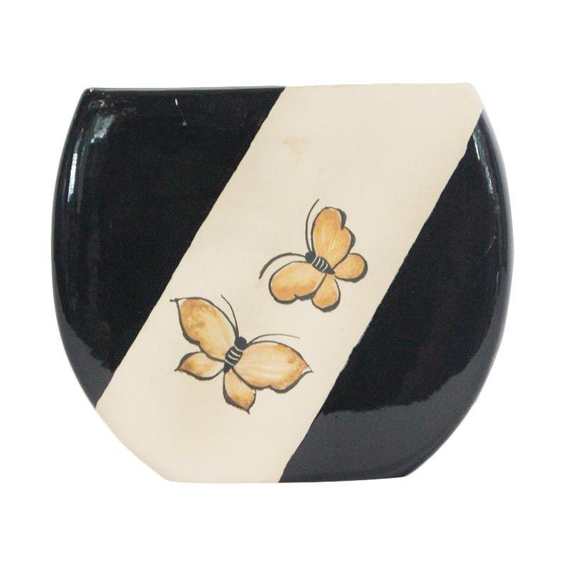 Smesco Trade Keramik Hitam Putih Tempat Tisu