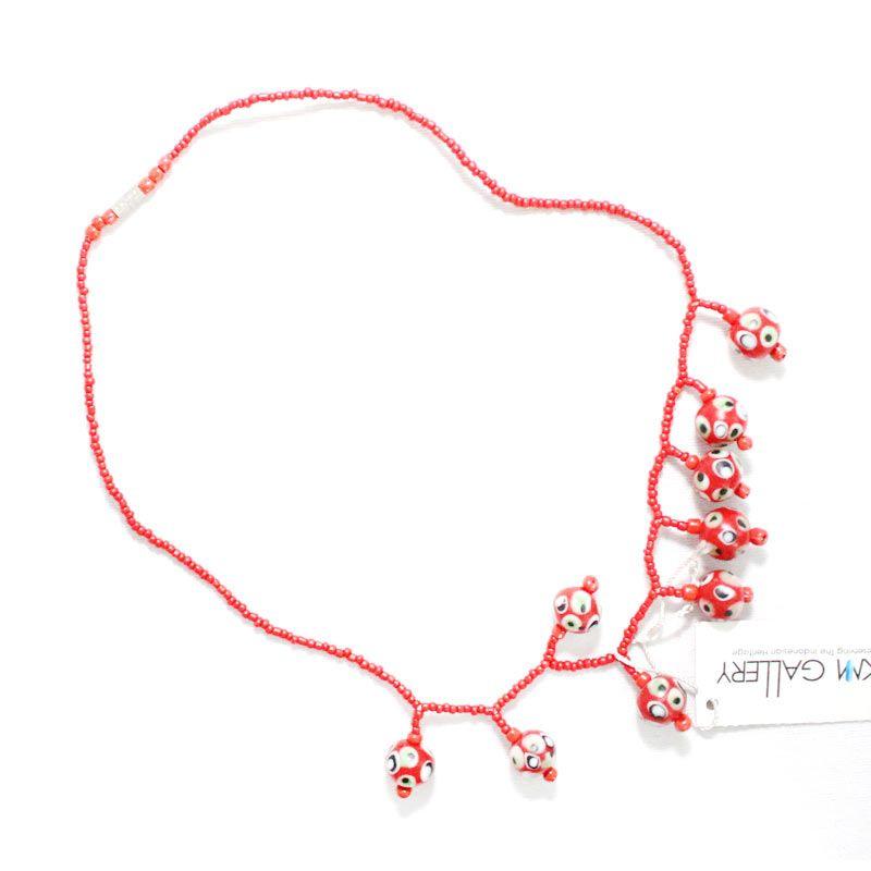 Smesco Trade Mekar 9 Batu Merah Kalung