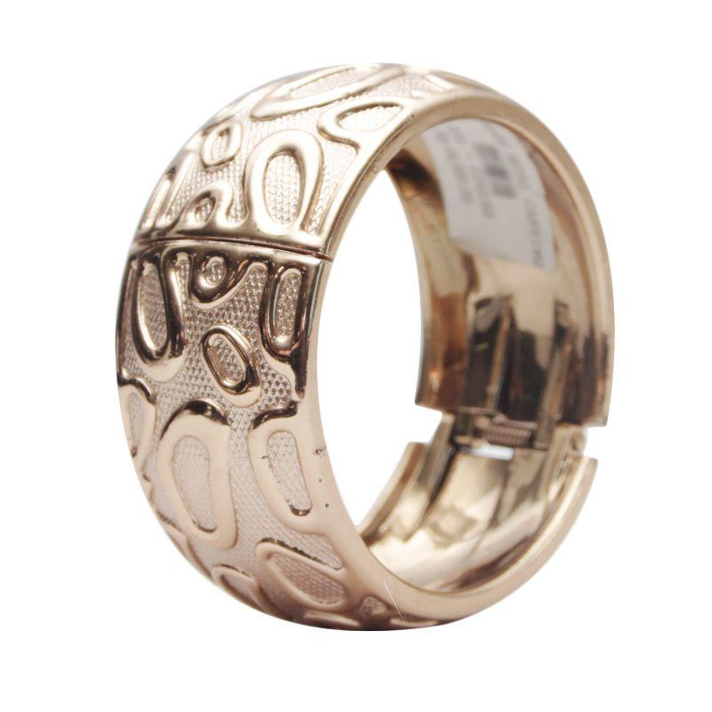 Smesco Trade Metal Carving Gold Gelang