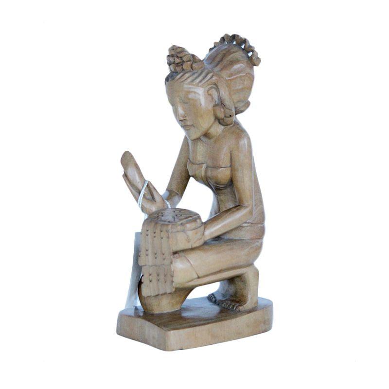 Smesco Trade Sembah Hindu Patung Kayu