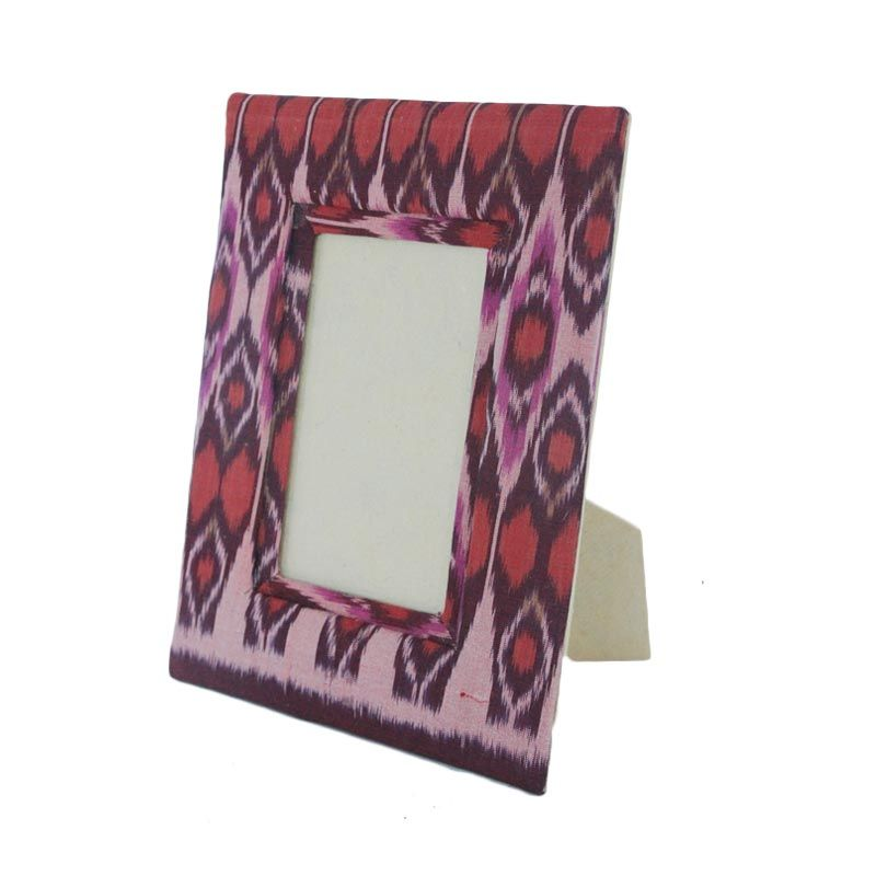 Smesco Trade Tenun Endek 4R Photo Frame