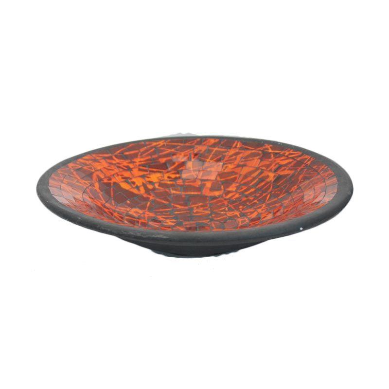 Smesco Trade Teracota Mozaiq Orange Hiasan