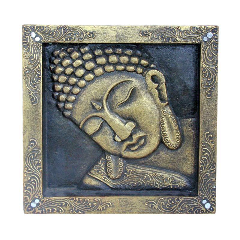 Smesco Trade Topeng Budha Hiasan Dinding