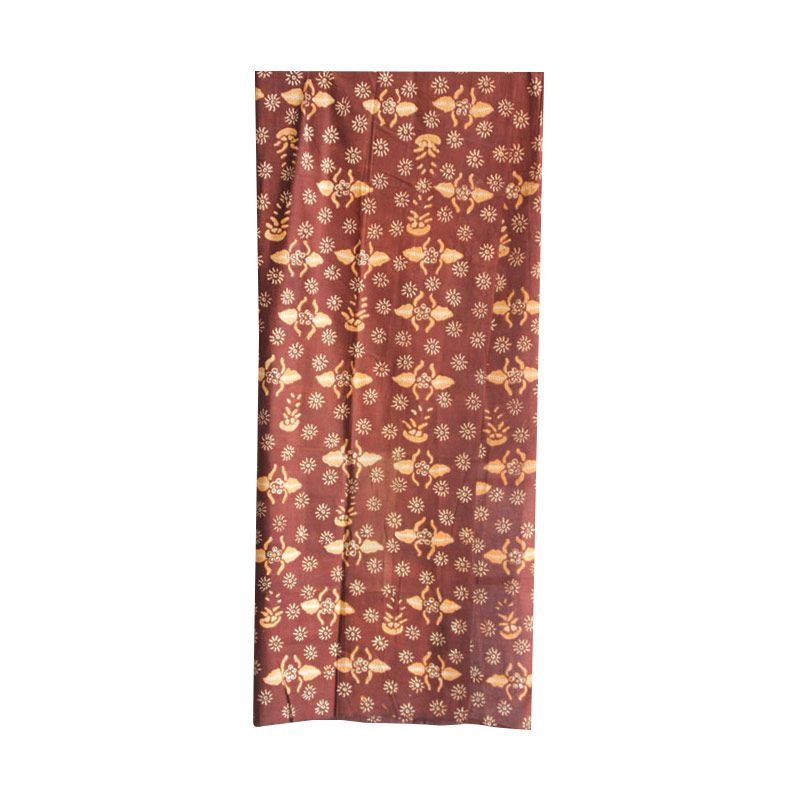 Smesco Trade Tulis Coklat Tua Kain Batik