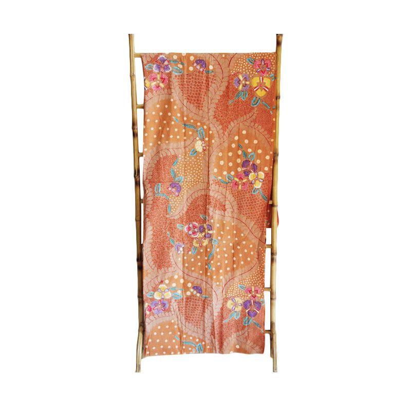 Smesco Trade Tulis Katun Kelopak Bunga Kain Batik
