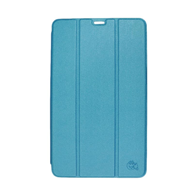 SMILE Standing Cover Casing for Samsung Galaxy Tab S - Blue [8.4 inch /T700]