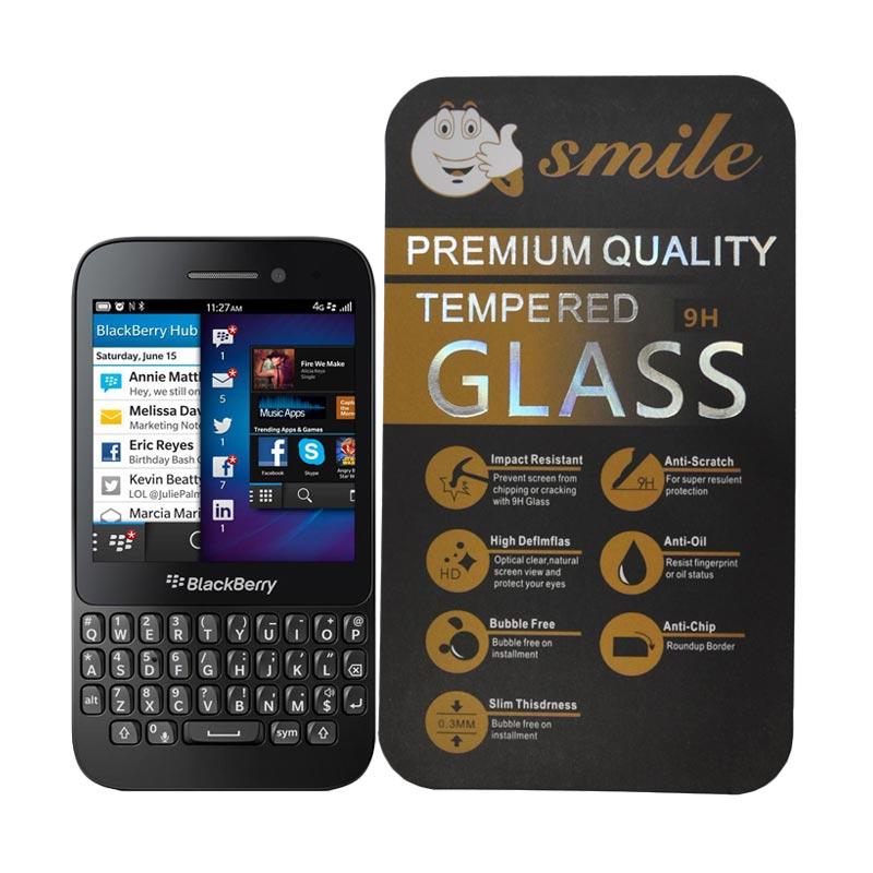 SMILE Tempered Glass for Blackberry Q5