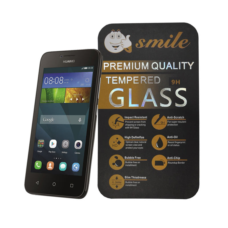 Smile Tempered Glass for Huawei Y5