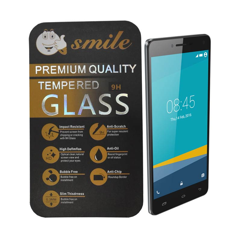 SMILE Tempered Glass for Infinix Hot 3