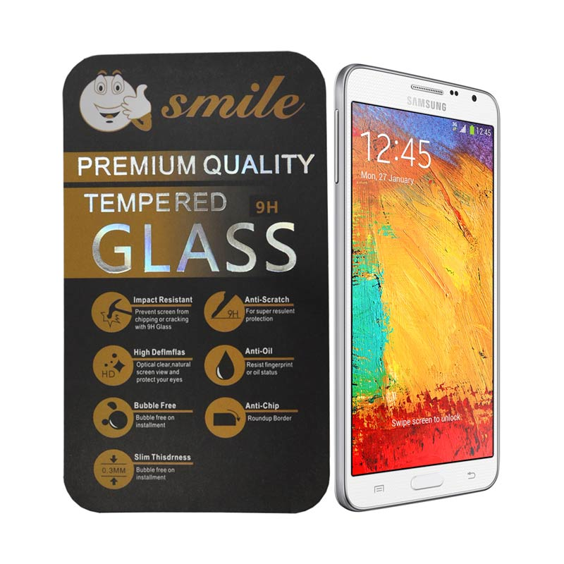 SMILE Tempered Glass for Samsung Galaxy Note 3 Neo