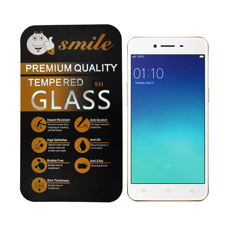 SMILE Tempered Glass Screen Protector for Oppo Neo 9 A37A