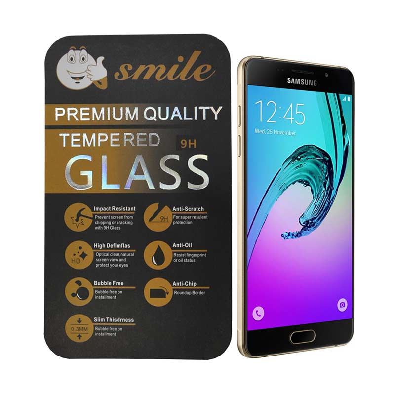 SMILE Tempered Glass Screen Protector for Samsung Galaxy A7 2016 or A710