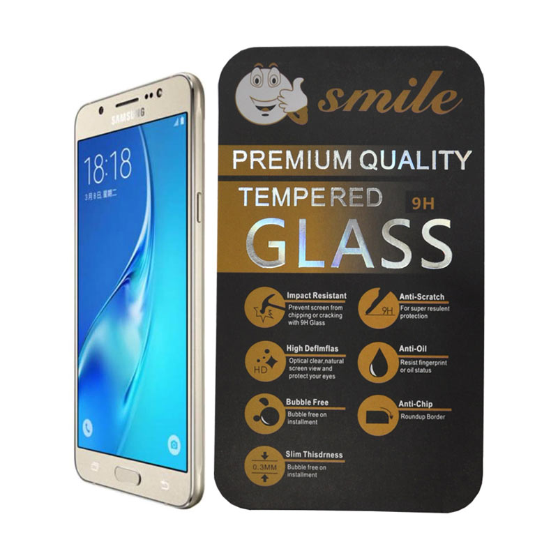 Smile Tempered Glass Screen Protector for Samsung Galaxy J5 2016