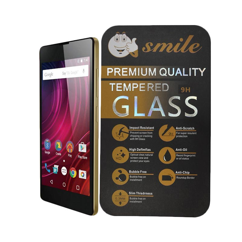 SMILE Tempered Glass Screen Protector for Infinix Hot 2 X510