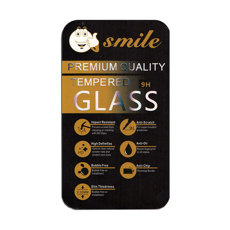 SMILE Tempered Glass Screen Protector for iPhone 5/5s