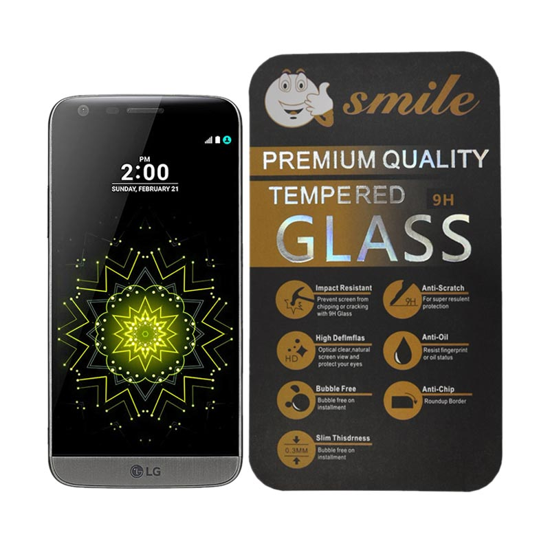 Smile Tempered Glass Screen Protector for LG G5 - Transparant