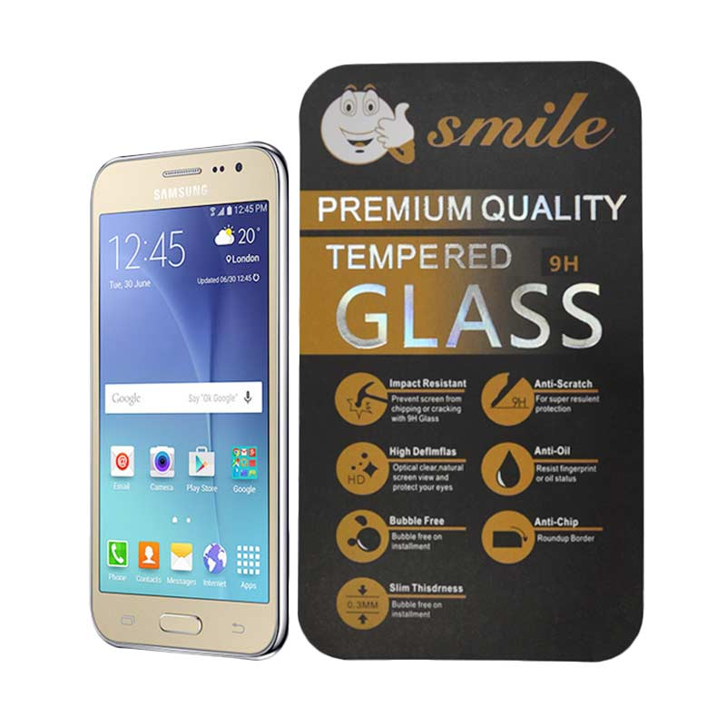 SMILE Tempered Glass Screen Protector for Samsung Galaxy J2
