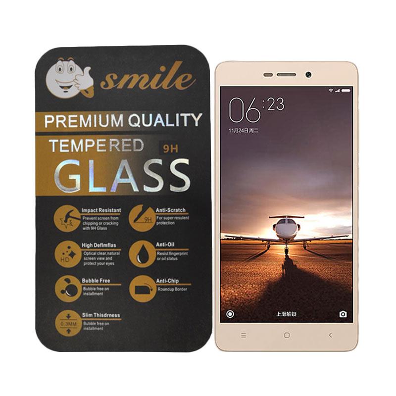 Smile Tempered Glass for Xiaomi Redmi 3 Pro