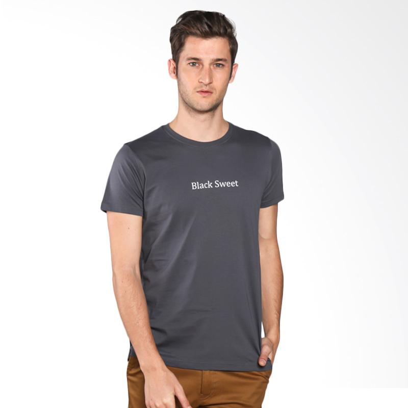 Snaaks Black Sweet B Man T-shirt - Grey Extra diskon 7% setiap hari Extra diskon 5% setiap hari Citibank – lebih hemat 10%
